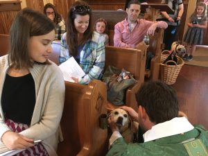 Blessing of the Animals at Trinity Cranford @ Trinity Episcopal Church, | Cranford | New Jersey | United States