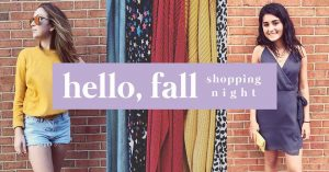 Hello, Fall Shopping Night! @ Anthem style & gift | Cranford | New Jersey | United States