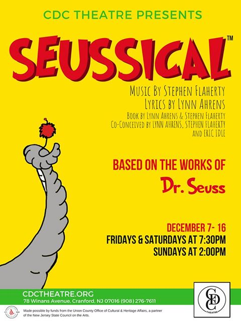 CDC Theatre presents Seussical