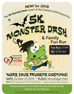 Monster Dash 5K and Fun Run! @ Nomahegan Park Cranford, NJ US 07016 | Cranford | New Jersey | United States