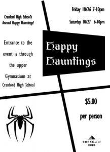 Cranford High School Annual Happy Hauntings @ Cranford High School | Cranford | New Jersey | United States
