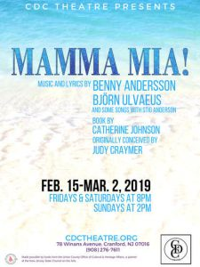 CDC Theatre presents Mamma Mia! @ CDC Theatre | Cranford | New Jersey | United States