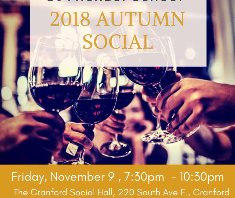 Saint Michael School 2018 Autumn Social