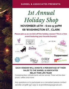 1st Annual Holiday Shop @ Clark | Clark | New Jersey | United States