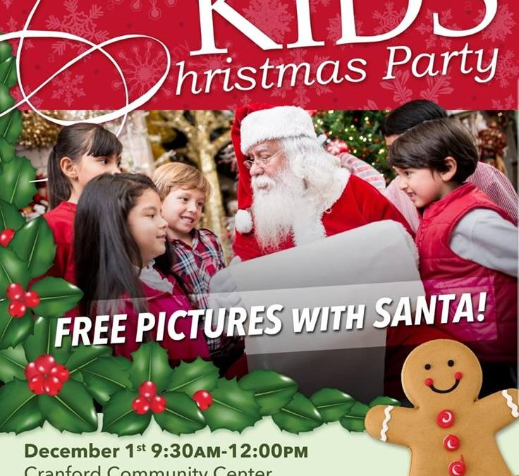 Kids\' Christmas Party | Cranford Online