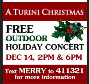 Turini Free Christmas Concert @ 247 Walnut Ave | Cranford | New Jersey | United States