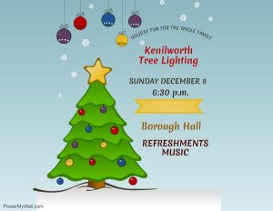 Kenilworth Tree Lighting @ Borough Hall