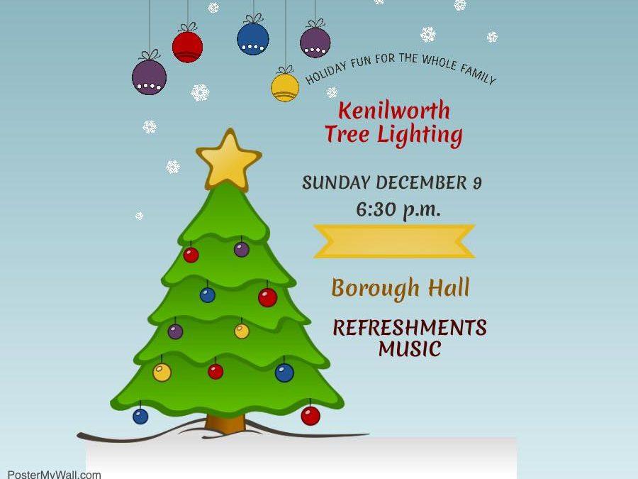 Kenilworth Tree Lighting