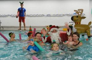SWIM WITH SANTA AT THE WESTFIELD AREA YMCA @ Main Y Facility  | Westfield | New Jersey | United States