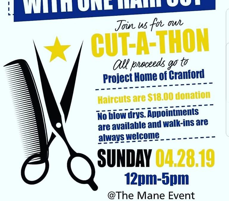 Annual Cut a Thon for Cranford Family Care and Project Home