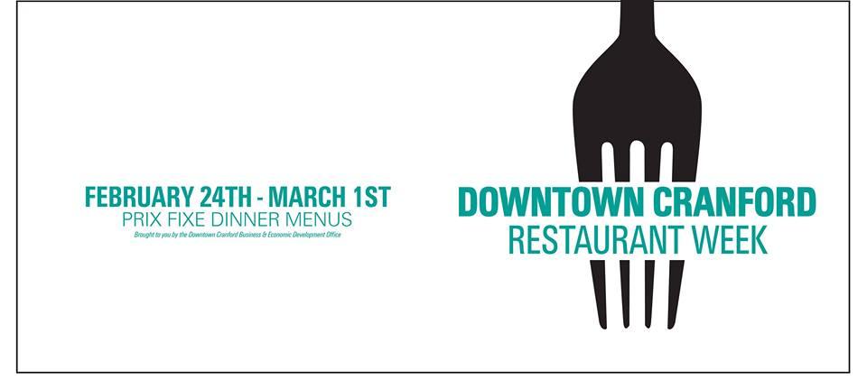 Downtown Cranford Winter Restaurant Week