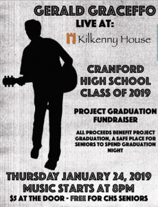 Live Music with Gerald Graceffo @ Kilkenny House | Cranford | New Jersey | United States