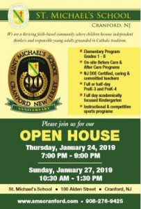 St. Michael's School Open House @ St. Michael School | Cranford | New Jersey | United States