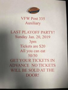 VFW Post 335 Playoff Party @ Cranford VFW Post 335 | Cranford | New Jersey | United States