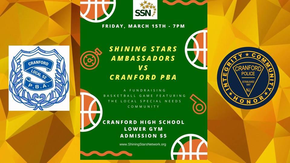 Cranford PBA vs Shining Stars Basketball Game