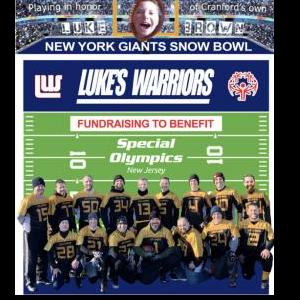 Brian L Lehrer / Luke's Warriors 2 at the Snow Bowl @ MetLife Stadium | East Rutherford | New Jersey | United States