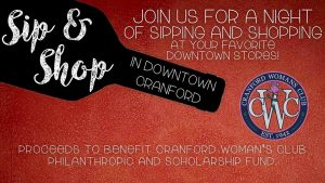 Sip & Shop in Downtown Cranford @ Downtown Cranford