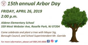 15th Annual Arbor Day @ Aldene Elementary School | Roselle Park | New Jersey | United States