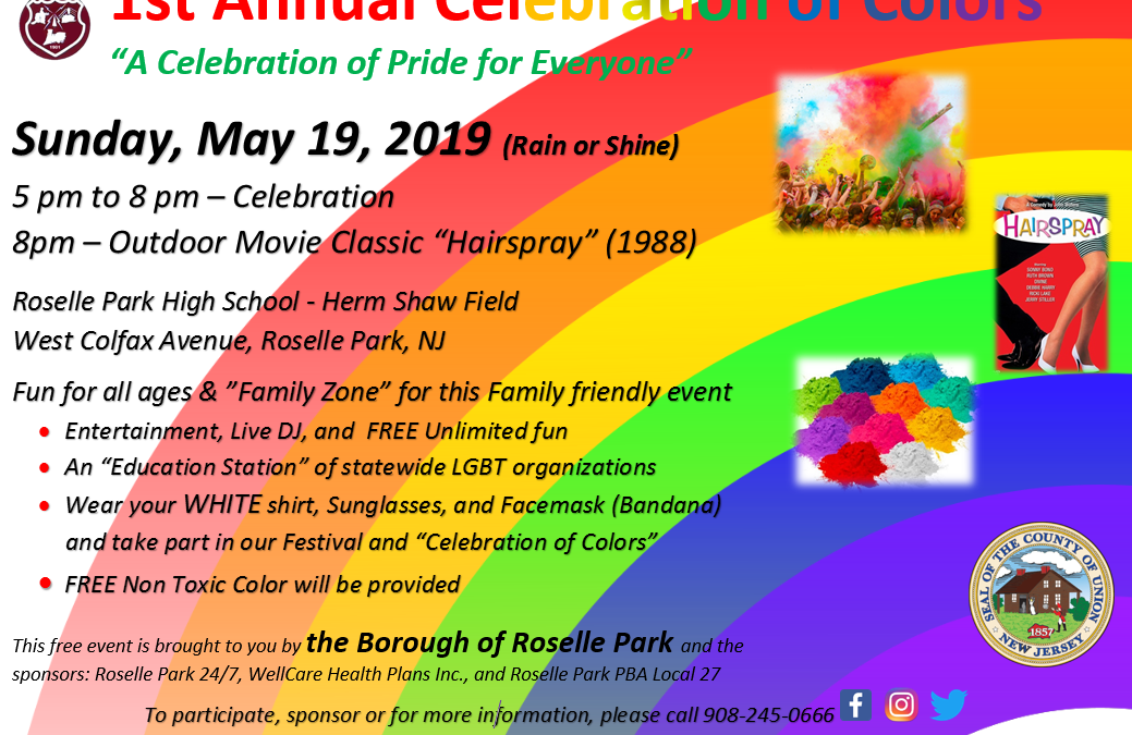 1st Annual Celebration of Colors and Pride Month