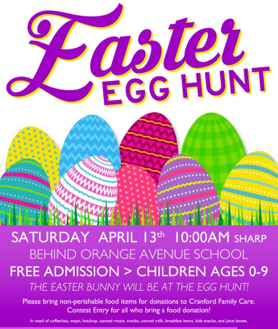 Cranford Jaycees 2019 Annual Easter Egg Hunt