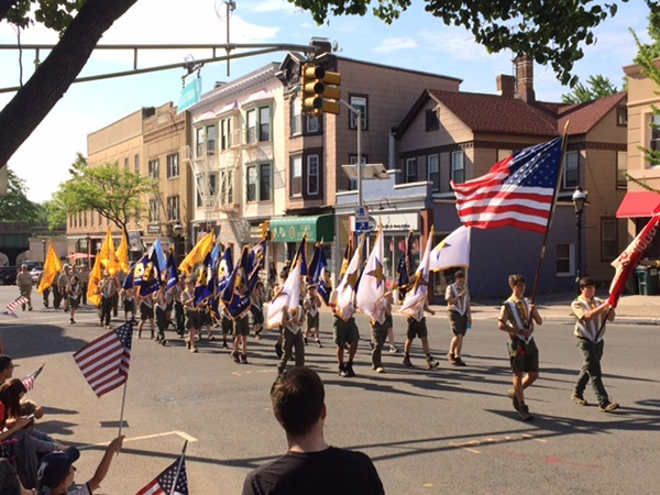 Cranford Memorial Day Parade 2019