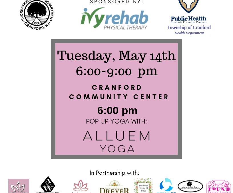 Pop Up Yoga with Alluem