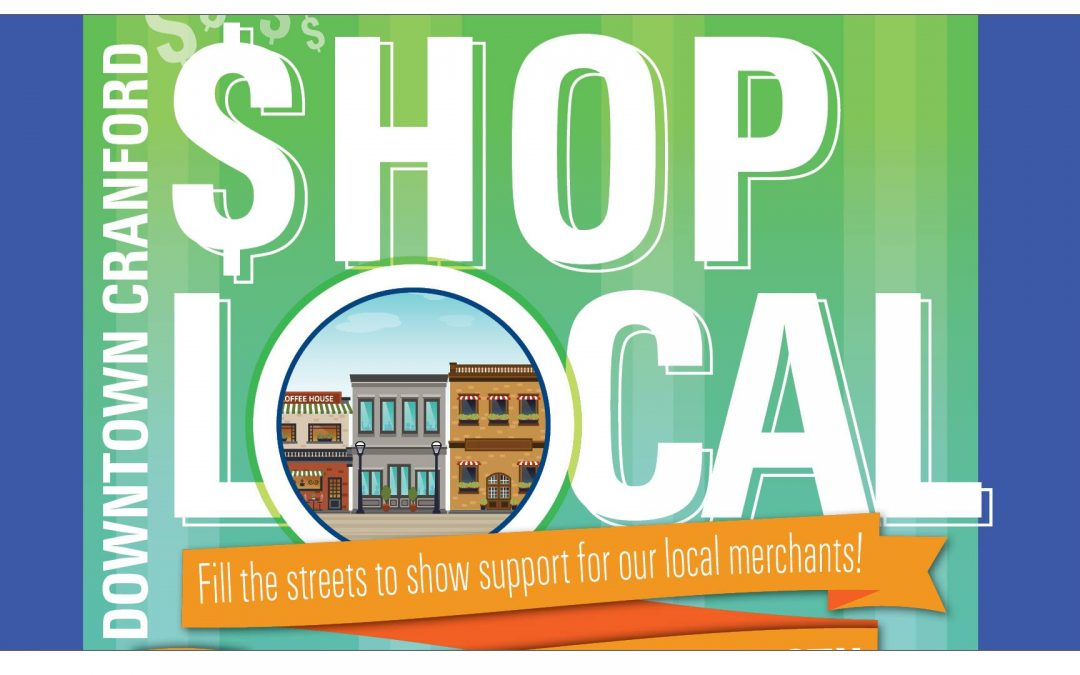 Shop Local Cranford – $26 on the 26th