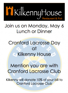 Cranford Lacrosse Day at Kilkenny @ Kilkenny House | Cranford | New Jersey | United States