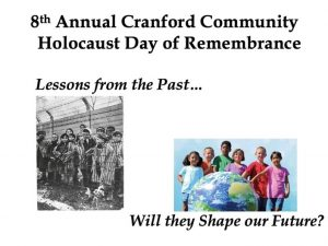 Cranford Holocaust Day of Remembrance @ Hillside Avenue School | Cranford | New Jersey | United States