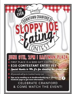 Sloppy Joe Eating Contest @ Downtown Cranford | Cranford | New Jersey | United States