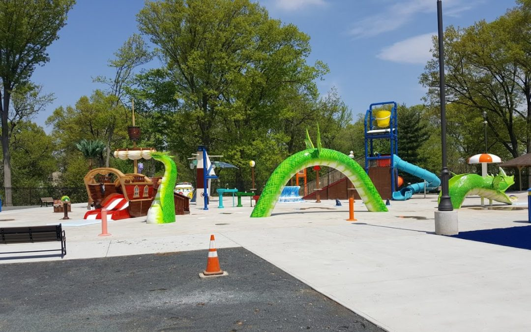 FREEHOLDERS TO CUT RIBBON ON NEW SPRAY PARK AT WHEELER PARK