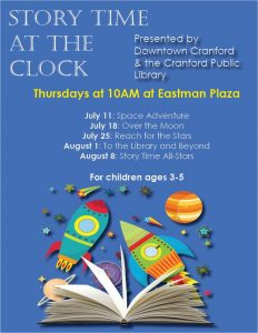 Story Time at the Clock @ Eastman Plaza | Cranford | New Jersey | United States