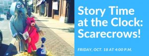 Story Time at the Clock Scarecrows @ Eastman Plaza | Cranford | New Jersey | United States