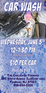 Car Wash to benefit ALZHEIMER'S NEW JERSEY @ THE CHELSEA AT FANWOOD | Fanwood | New Jersey | United States
