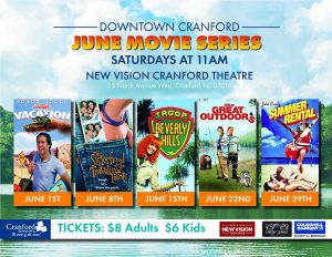 June Movie Series @ Cranford Theater