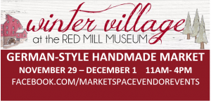 Winter Village at The Red Mill Museum @ The Red Mill Museum | Clinton | New Jersey | United States