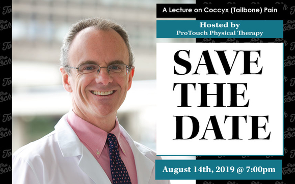 A Lecture on Coccyx (Tailbone) Pain with Dr. Patrick Foye – RSVP by August 7th