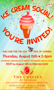 Ice Cream Social @ The Chelsea at Fanwood | Fanwood | New Jersey | United States