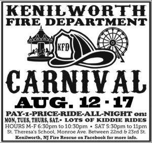 Kenilworth Fire Department Carnival @ St Theresa's School | Kenilworth | New Jersey | United States