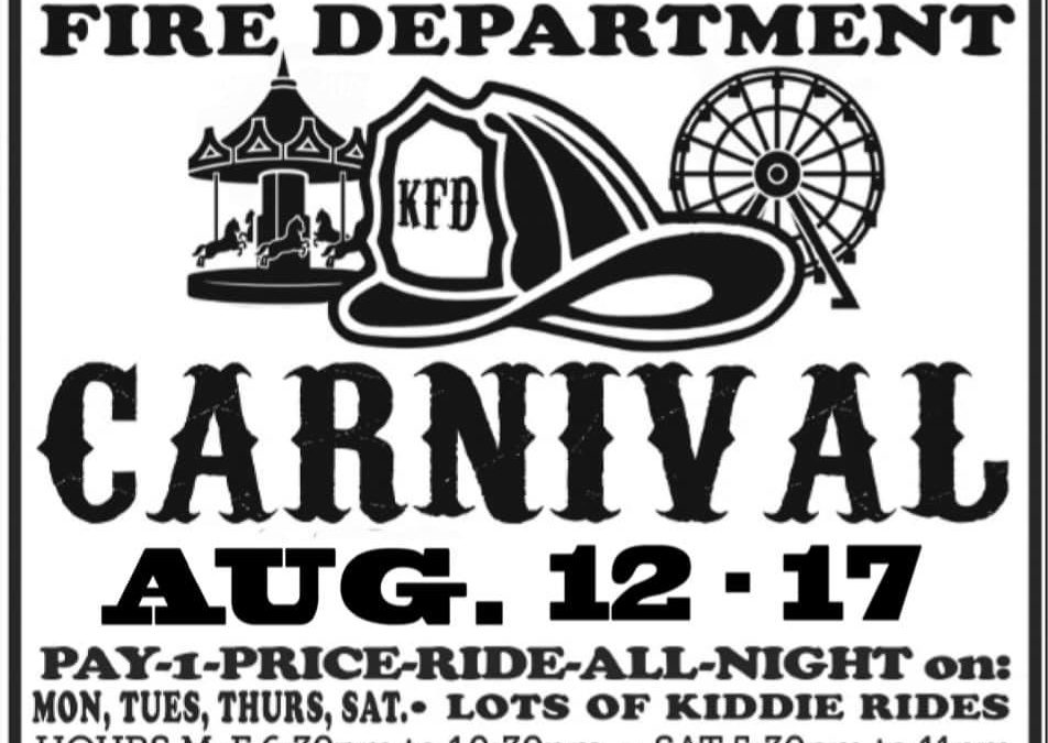 Kenilworth Fire Department Carnival