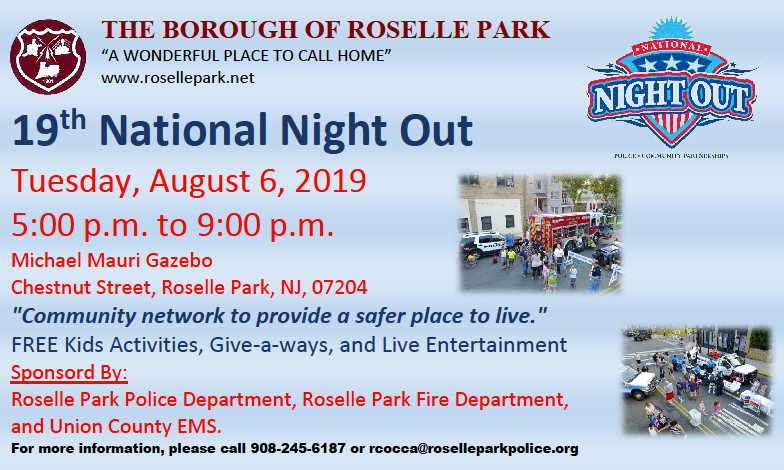 """Roselle Park """"National Night Out"""""""