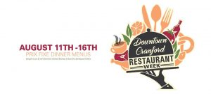 Cranford Downtown Restaurant Week @ Downtown Cranford | Cranford | New Jersey | United States