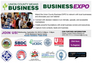 Union County Means Business Expo @ Warinanco Sports Center