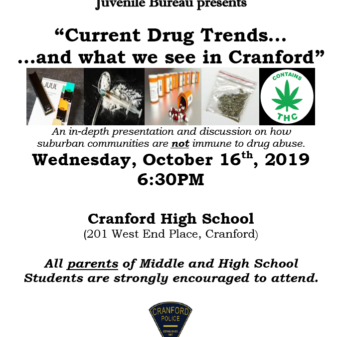 Current Drug Trends & What We See in Cranford