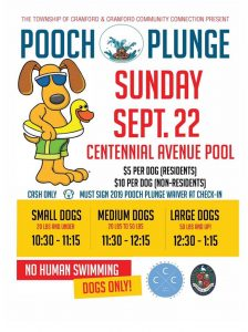 Pooch Plunge @ Centennial Ave. Pool | Cranford | New Jersey | United States