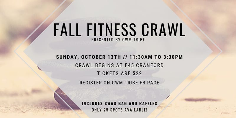 Fall Fitness Crawl