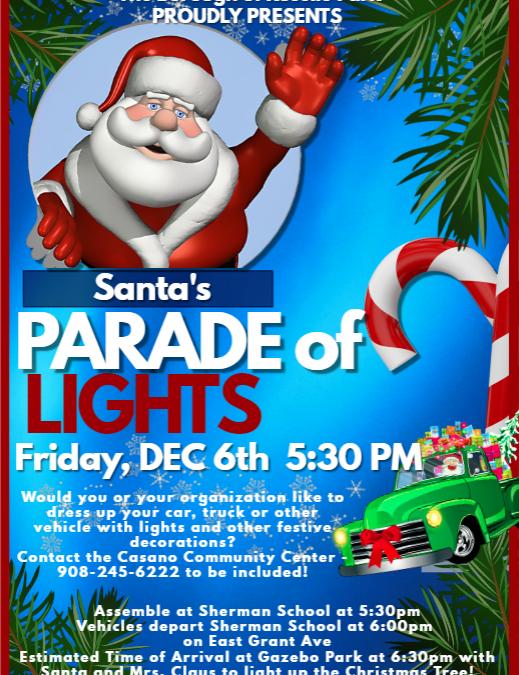 Santa's Parade of Lights