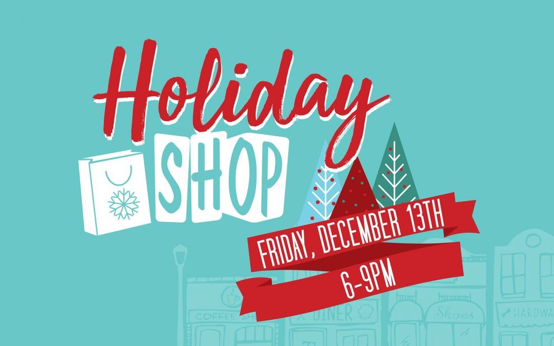 Holiday Shop in Downtown Cranford