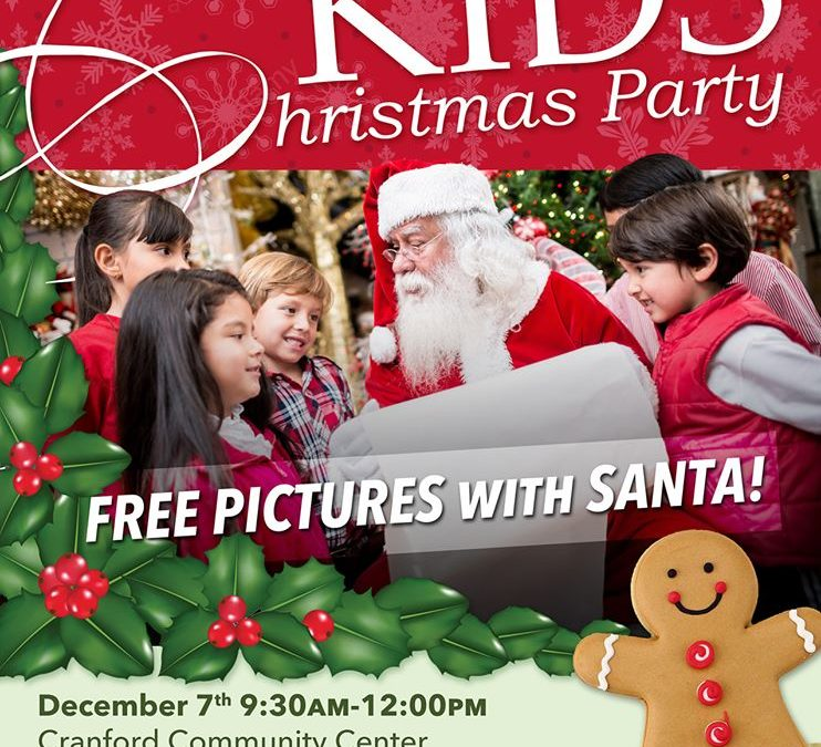 The Cranford Jaycees Kids Christmas Party