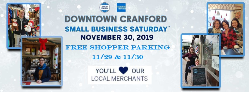 Downtown Cranford Small Business Saturday